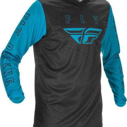 Fly Racing 2021 Fly Racing F-16 Youth Blue/Black Jersey