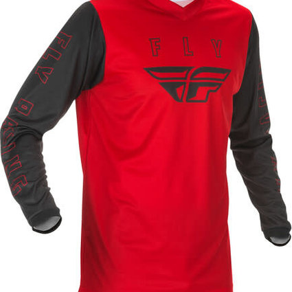 Fly Racing 2021 Fly Racing F-16 Youth Red/Black Jersey