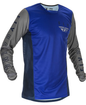 Fly Racing 2021 Fly Racing Kinetic K121 Adult Blue/Navy/Grey Jersey