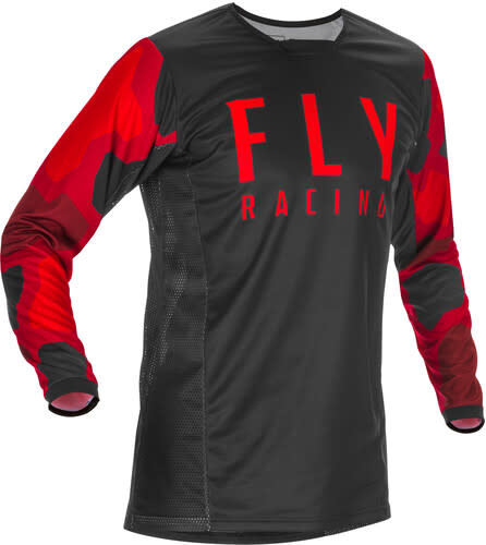 Fly Racing 2021 Fly Racing Kinetic K221 Adult Red/Black Jersey