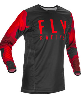 Fly Racing 2021 Fly Racing Kinetic K221 Youth Red/Black Jersey