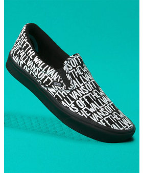 Vans Vans Comfycush Slip-On Off the Wall Shoes