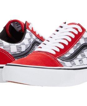 Vans Vans Old Skool Pro Sketchy Checkers Red Shoes