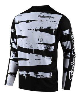 Troy Lee Designs Troy Lee Design Sprint Adult Brushed Black/White Jersey