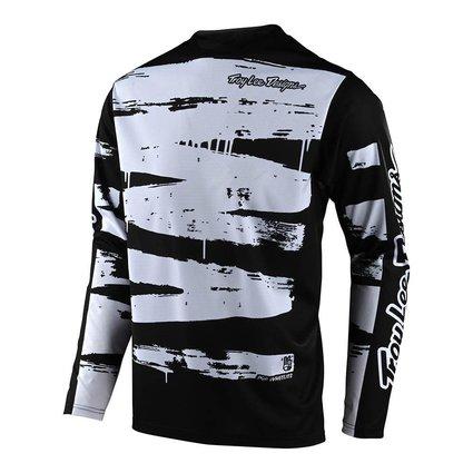 Troy Lee Designs Troy Lee Design Sprint Youth Brushed Black/White Jersey