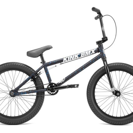 "Kink 2022 Kink Curb 20"" Matte Blood Blue Bike"