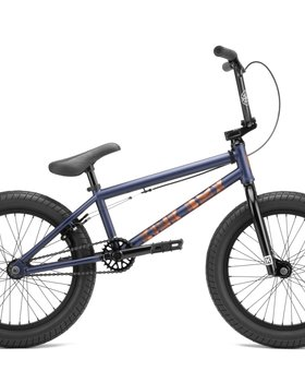 "Kink 2022 Kink Kicker 18"" Matte Midnight Blue Bike"