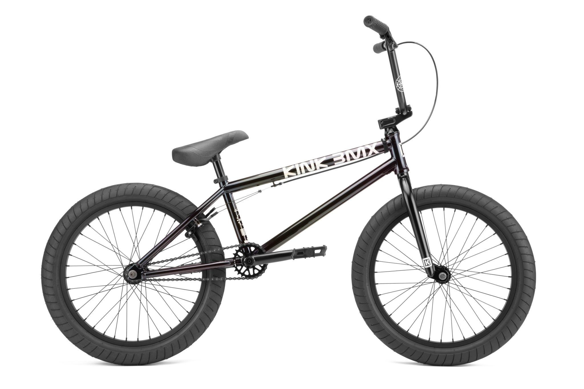 "Kink 2022 Kink Launch 20.25"" Gloss Iridescent Black Bike"