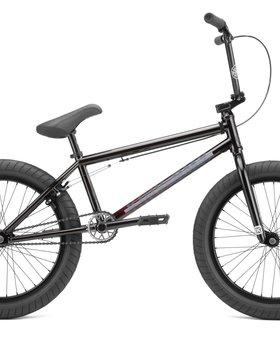 """Kink 2022 Kink Whip 20.5"""" Gloss Black Fade Bike"""