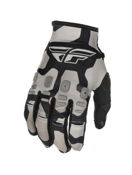 Fly Racing Fly Racing Kinetic K221 Youth Black/Grey Gloves