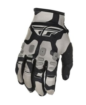 Fly Racing 2021 Fly Racing Kinetic K221 Youth Black/Grey Gloves