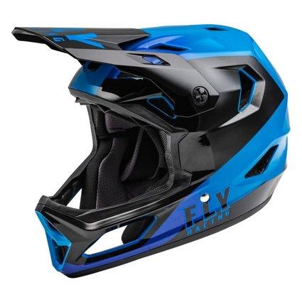 Fly Racing Fly Racing Rayce Youth Black/Blue Helmet
