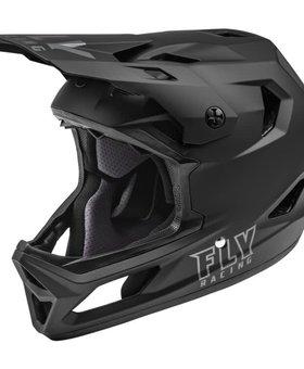 Fly Racing 2022 Fly Racing Rayce Matte Black Helmet