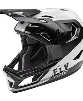 Fly Racing 2022 Fly Racing Rayce Black/White Helmet