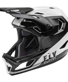 Fly Racing Fly Racing Rayce Youth Black/White Helmet