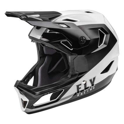 Fly Racing Fly Racing Rayce Black/White Helmet