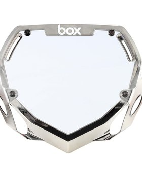 Box Components Box Two Chrome Pro Number Plate