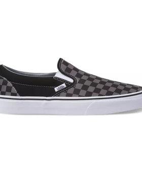 Vans Vans Slip-On Black/Pewter Checkerboard Shoes