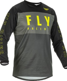 Fly Racing 2022 Fly Racing F-16 Grey/Black/Hi-Vis Jersey