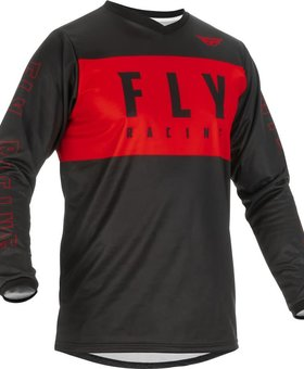 Fly Racing 2022 Fly Racing F-16 Red/Black Jersey