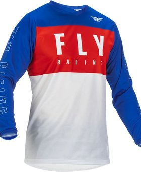 Fly Racing 2022 Fly Racing F-16 Red/White/Blue Jersey