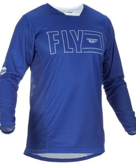 Fly Racing 2022 Fly Racing Kinetic Fuel Adult Blue/White Jersey