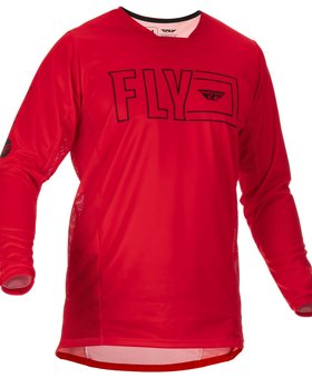 Fly Racing 2022 Fly Racing Kinetic Fuel Adult Red/Black Jersey