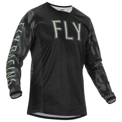Fly Racing 2022 Fly Racing Kinetic SE Tactic Adult Camo Jersey