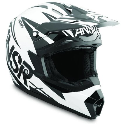 Answer Racing Answer Racing Nova Black/White Youth Small Helmet
