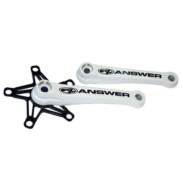 Answer BMX Answer BMX White Alloy Mini Cranks