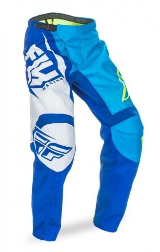 Fly Racing 2017 Fly Racing F-16 Blue/Hi-Vis Youth Pants