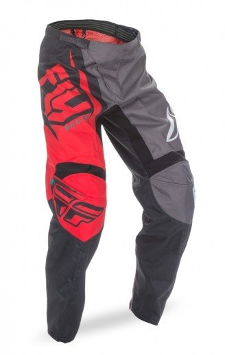 Fly Racing 2017 Fly Racing F-16 Red/Black/Grey Adult Pants