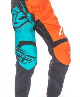 Fly Racing 2017 Fly Racing F-16 Orange/Teal Adult Pants