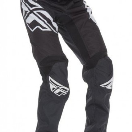 Fly Racing 2017 Fly Racing Kinetic Bicycle Black/White Youth 18 Pants