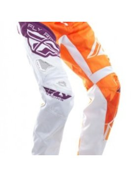 Fly Racing 2017 Fly Racing Kinetic Bicycle Crux Orange/Purple Youth Pants
