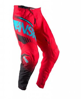 Answer Racing 2017 Answer Syncron Adult Red/Teal Pants