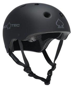 Pro-Tec * Pro-tec Classic (Certified) Rubber Black Helmet
