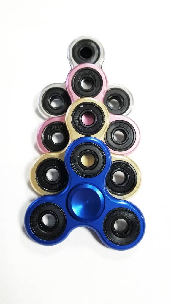Fidget Fidget 3-Side Electromagntic Spinner Blue