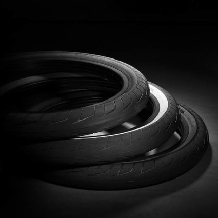 "Kink 20x2.2"" Kink Wright Black Tire"