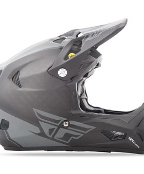 Fly Racing 2018 Fly Racing Werx Mips Rival Large Black/Coal Helmet