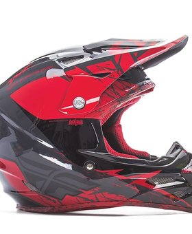 Fly Racing 2017 Fly Carbon Mips Retrospec Red/Black Large Helmet
