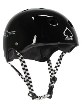 Pro-Tec Pro-tec Classic Certified Black Checker  XLarge Helmet