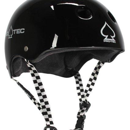 Pro-Tec Pro-tec Classic Certified Black Checker Large Helmet