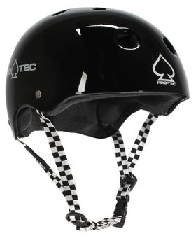 Pro-Tec Pro-tec Classic Certified Black Checker Med Helmet