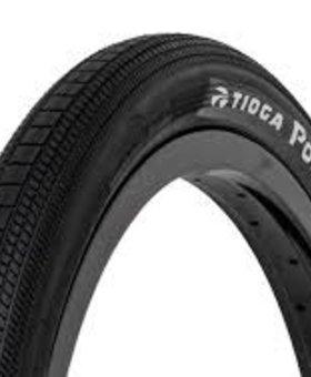 """Tioga 20X1.6"""" Tioga Powerblock Wire Black Tire"""