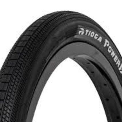 Tioga Tioga 20x1-1/8 Powerblock Wire Black Tire