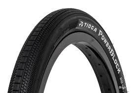 """Tioga 20x1-1/8"""" Tioga Powerblock Wire Black Tire"""