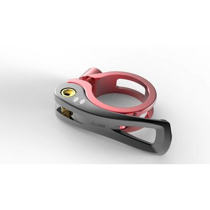 Box Components Box One Quick Release 31.8mm Red Seat Clamp