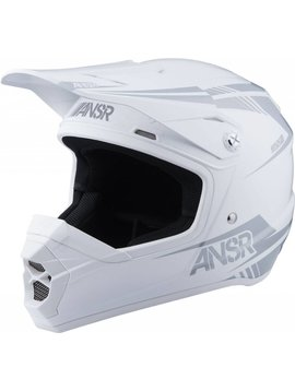 Answer Racing Answer Racing SNX2 White Youth Small Helmet