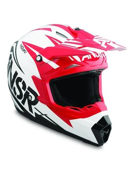 Answer Racing Answer Racing Nova Dyno Red/White Youth Small Helmet